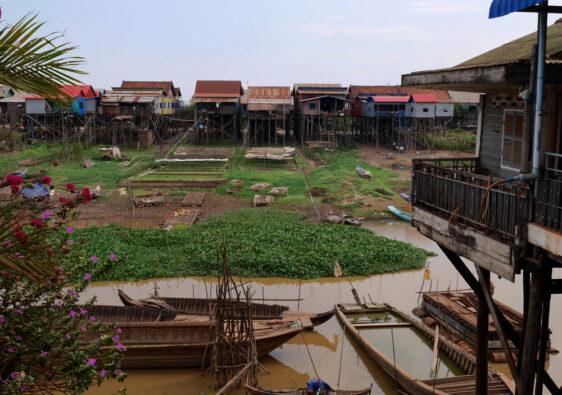 Cambodge : visiter le village de Kompong Khleang sur le Tonle Sap
