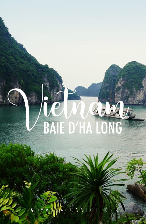 Vietnam : visiter la baie d'Ha Long en croisière à bord d'une jonque