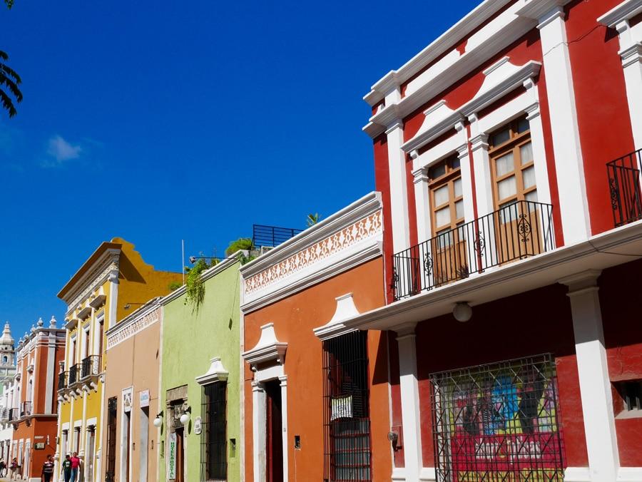 La ville colorée de Campeche au Mexique