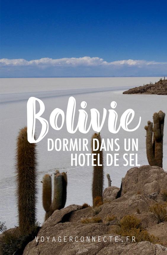 Dormir dans un hôtel de sel en Bolivie