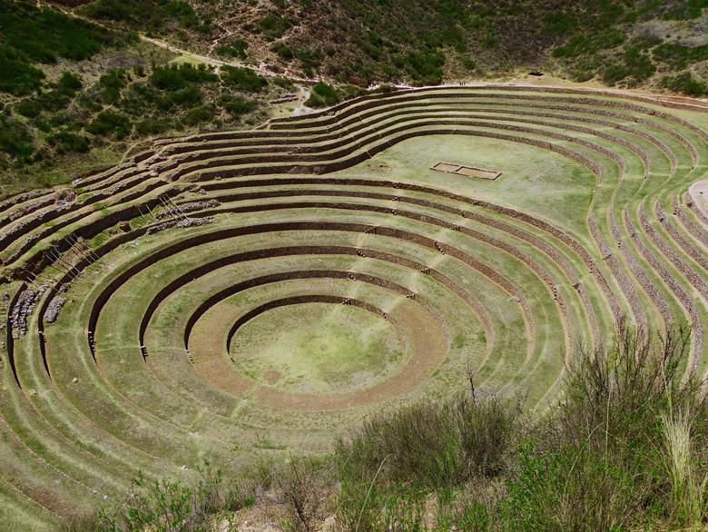 Site d'expérimentation agricole de Moray au Pérou