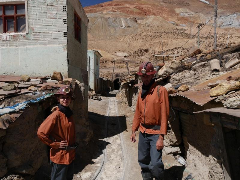 Visiter une mine Potosi Bolivie