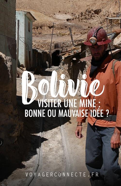 Bolivie : récit de ma visite d'une mine d'argent à Potosi