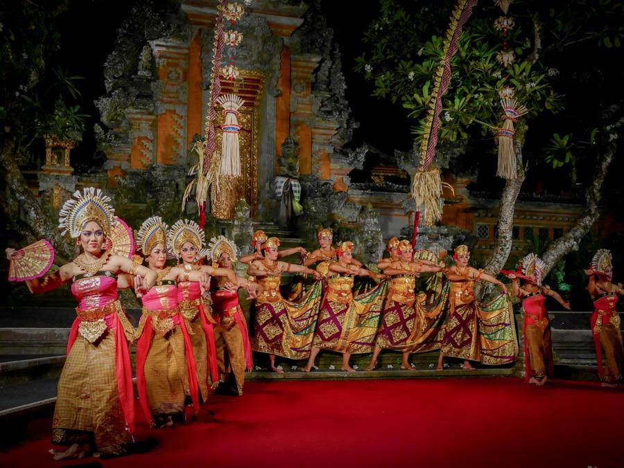 Spectacle de danse Balinaise à Ubud