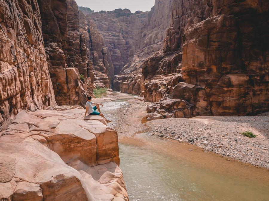 Le Wadi Mujib en Jordanie