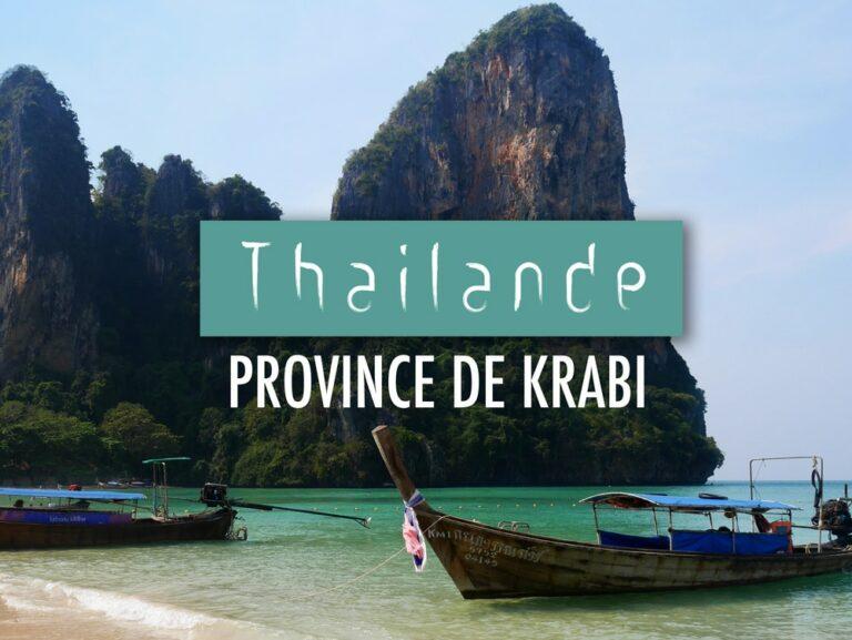 Que faire à Krabi en Thailande ?
