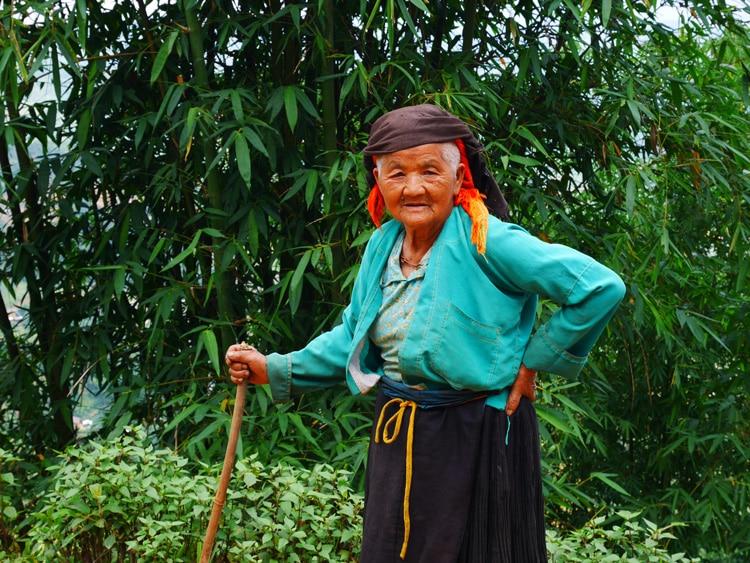 Femme minorité ethnique nord Vietnam