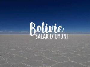 Bolivie : excursion dans le Salar d'Uyuni