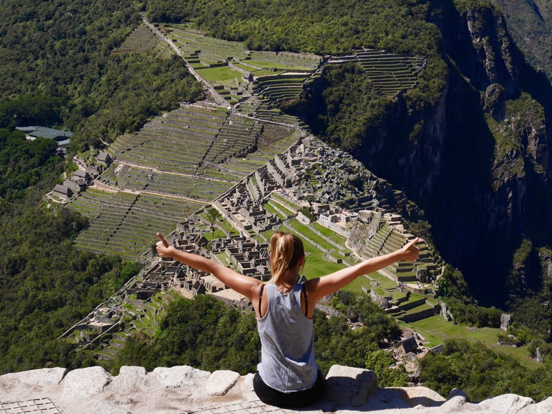 Grimper au Huayna Picchu