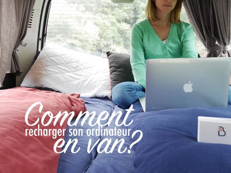 Comment recharger son ordinateur en van