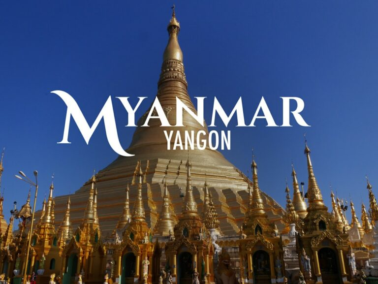 Paya shwedagon de Rangoon