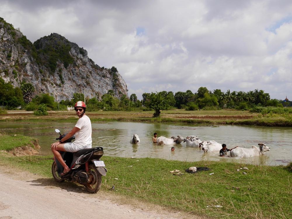 Louer un scooter Kep
