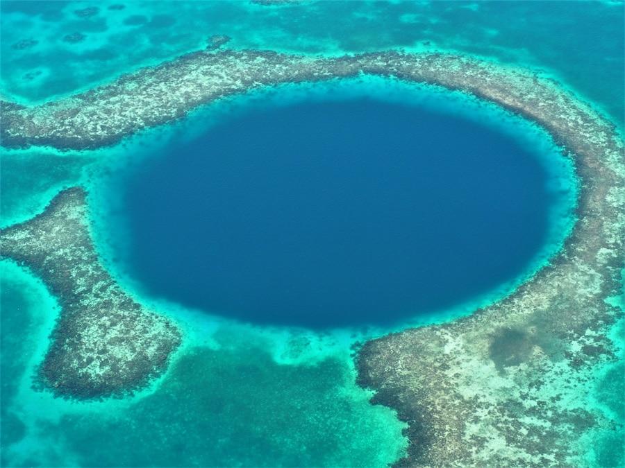Le Blue Hole du Belize