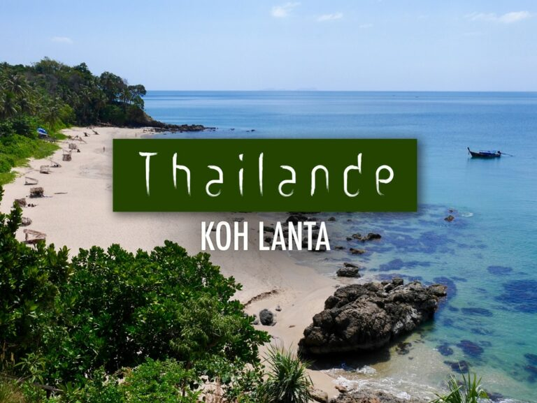 3 jours ile de Koh Lanta Thailande