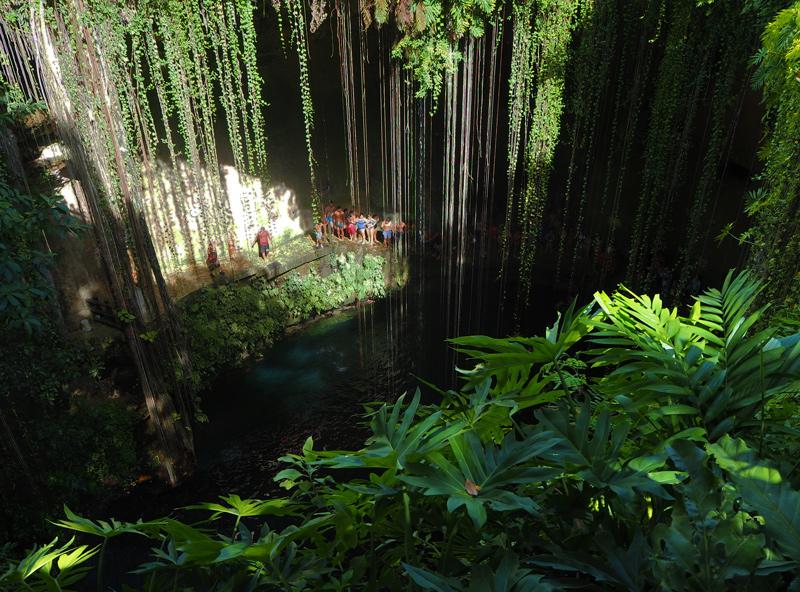 Cenote Ik kill au Mexique