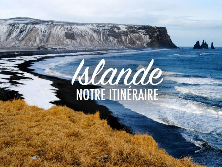 itinéraire de Roadtrip en Islande
