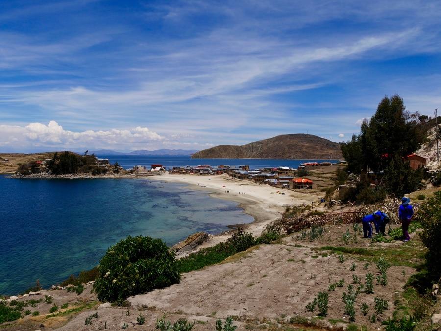 Le nord d'Isla Del Sol
