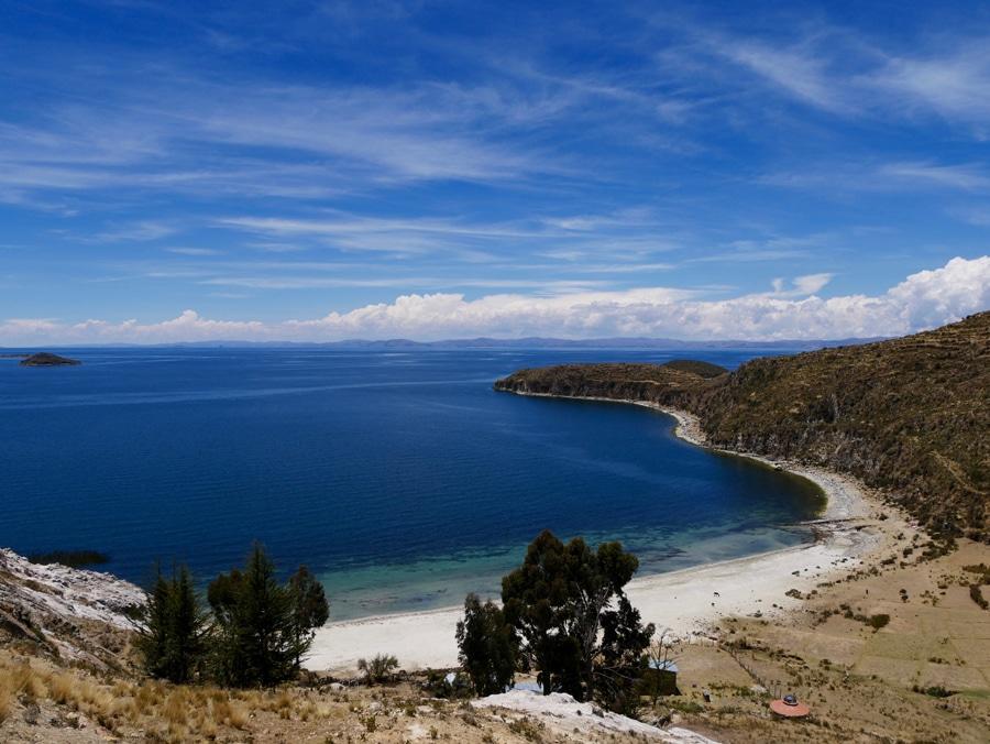 Une plage de d'Isla del Sol