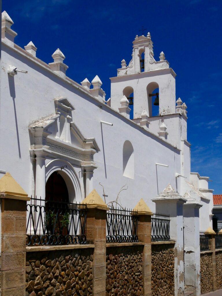 Une église à Sucre en Bolivie
