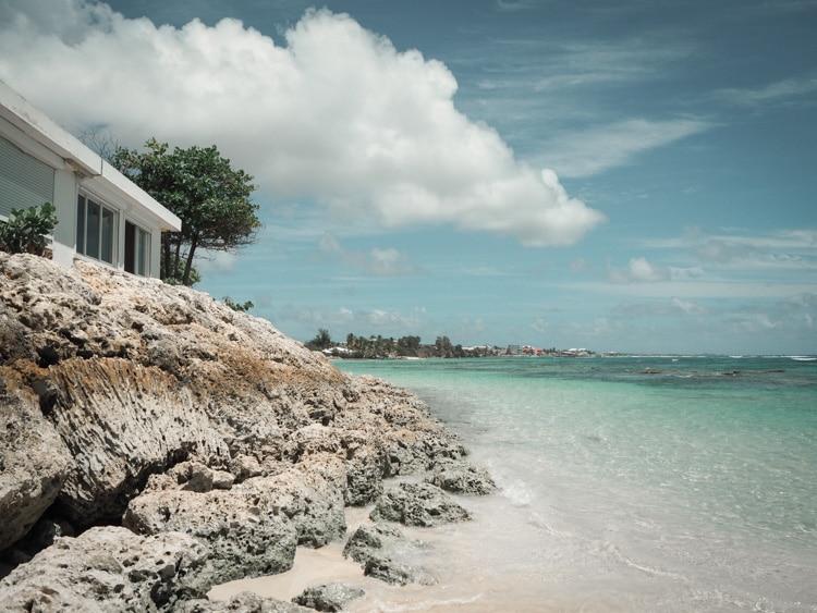 Plage des Raisins Clairs Grande-Terre Guadeloupe