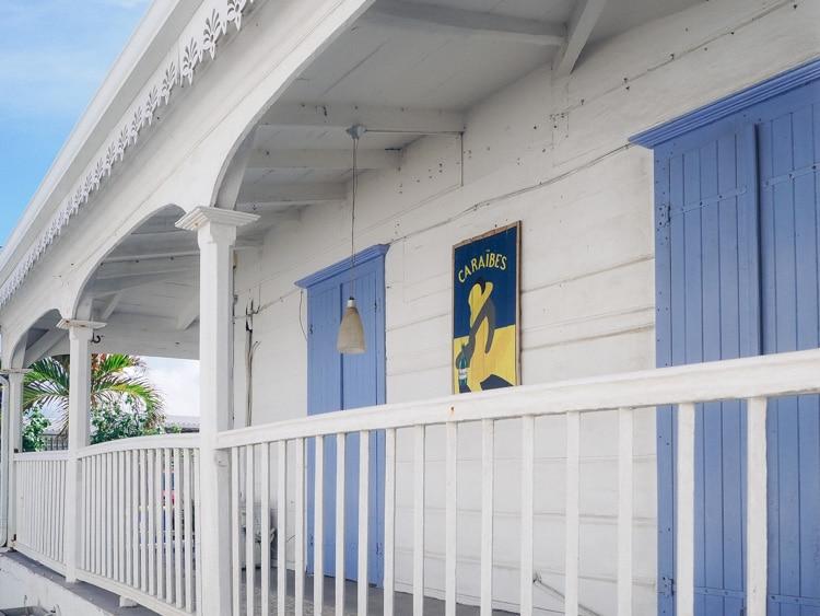 Maison caribéenne le Moule