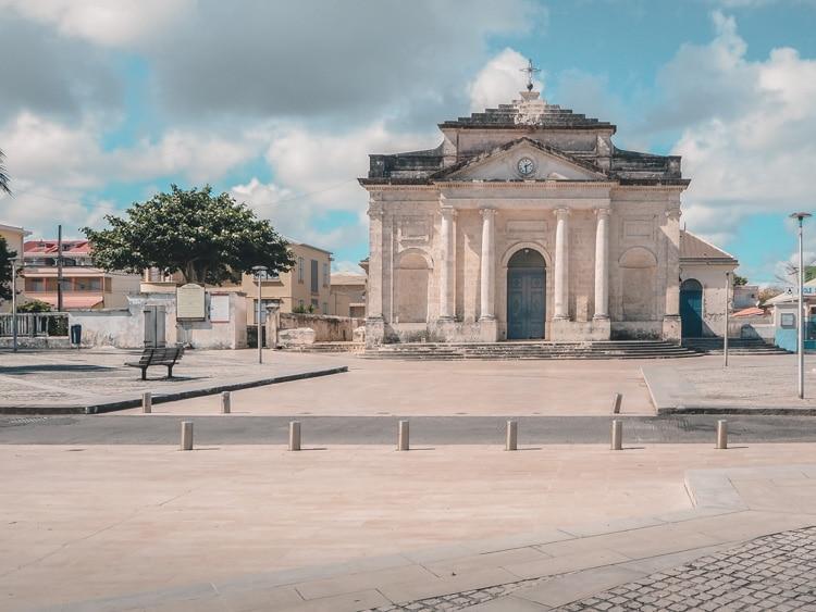 Eglise centrale Le Moule Guadeloupe