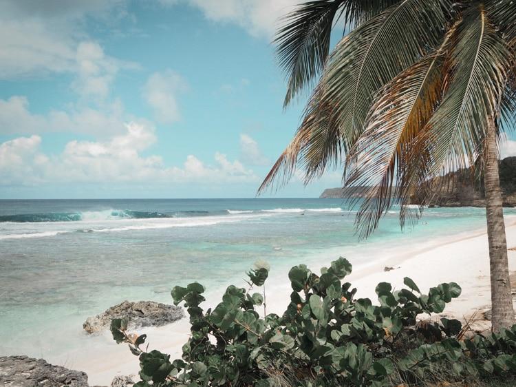 Plage de l'Anse Laborde en Guadeloupe