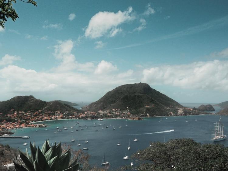 La baie des Saintes en Guadeloupe
