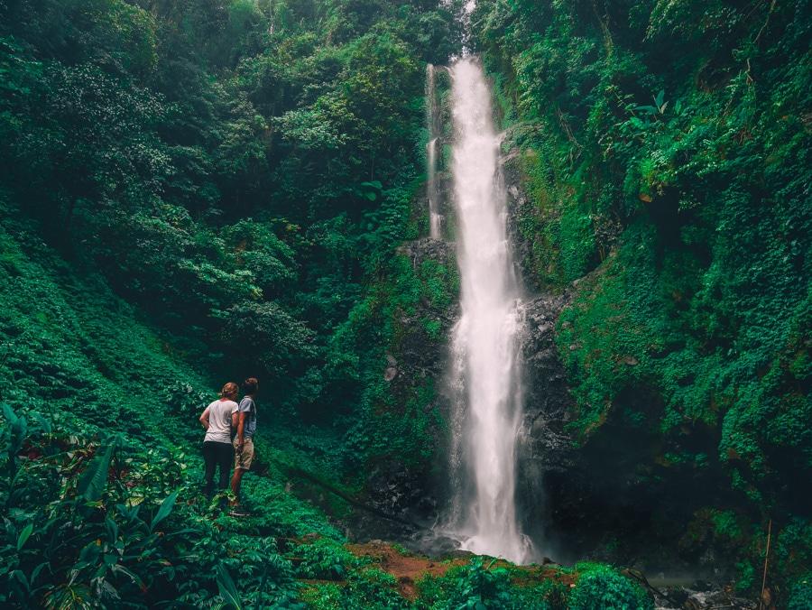 La cascade de Melanting à Munduk