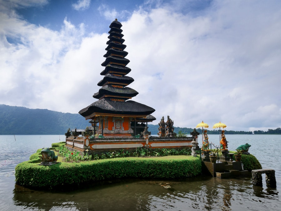 Temple Ulun Danu Bratan sur le lac Bratan