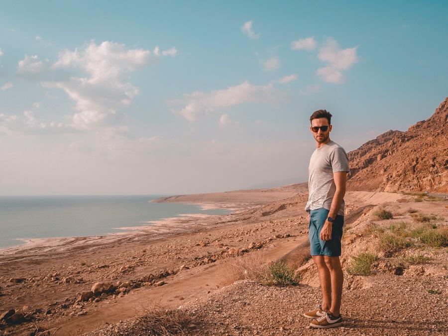 Aux abords de la Mer Morte en Jordanie